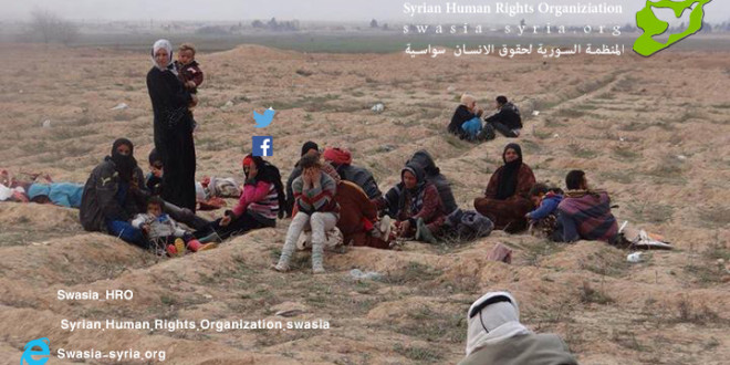 المجازر الجماعية لمليشيات قوات الحماية الشعبية الكردية بحق القرى العربية